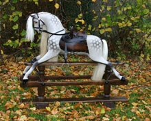Leicestershire rocking horse